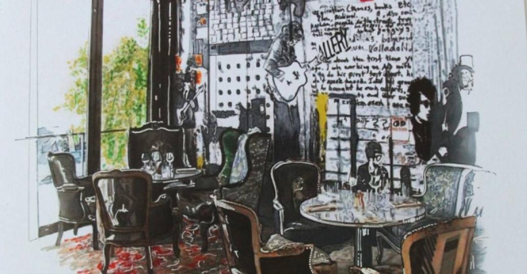 Gezdiği Yerleri İllüstrasyona Dönüştüren Türk Sanatçı