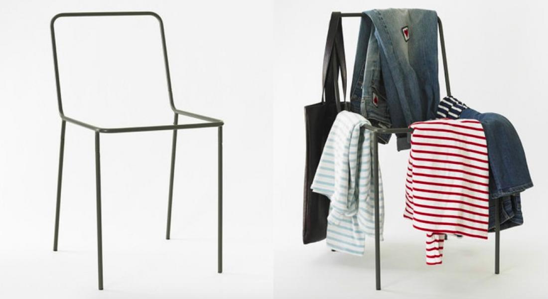 Artık Giysilerinizi Rahatlıkla Sandalyenin Üzerine Fırlatabilirsiniz