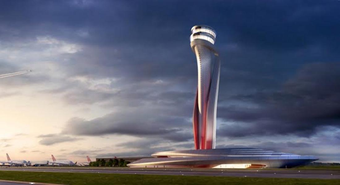 İstanbul'un Yeni Havalimanına, Simgesi Laleden Esinlenilen Hava Trafik Kontrol Kulesi