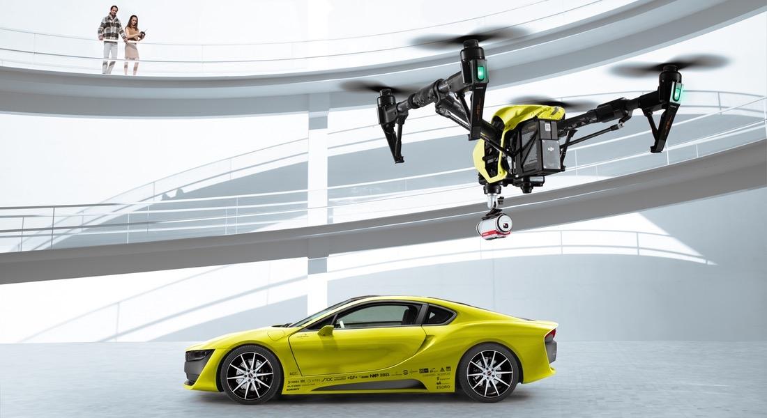 Rinspeed'den Otopilot Ve Drone Takip Özellikli Konsept: Ʃtos