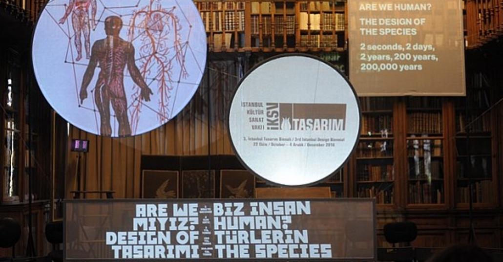 3. İstanbul Tasarım Bienali'nin Teması Açıklandı: Biz İnsan Mıyız?