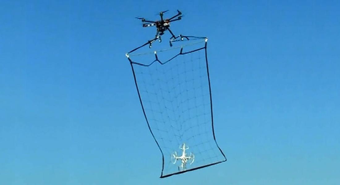 Tokyo Polisinden İzinsiz Uçan Drone'lar İçin Müthiş Çözüm