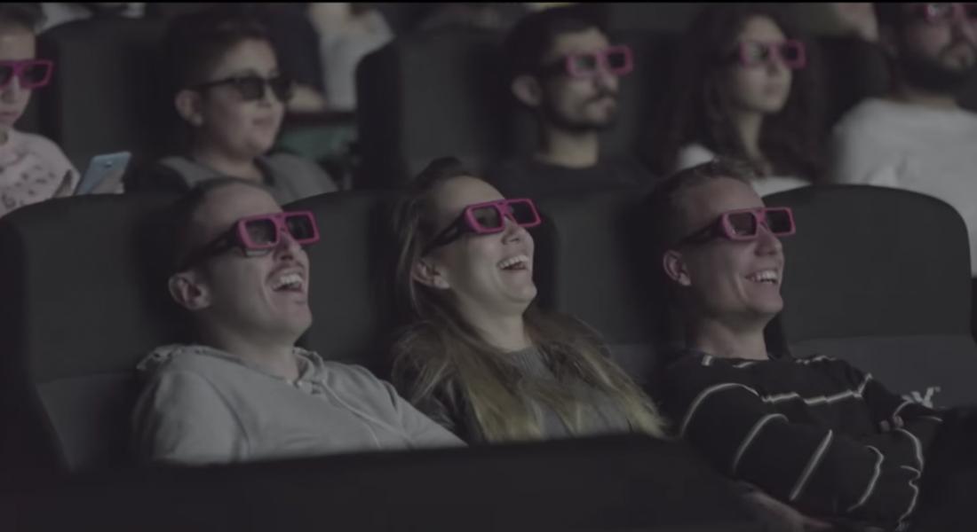Mercedes-Benz Türk'ten 4 Boyutlu Sinema Reklamı