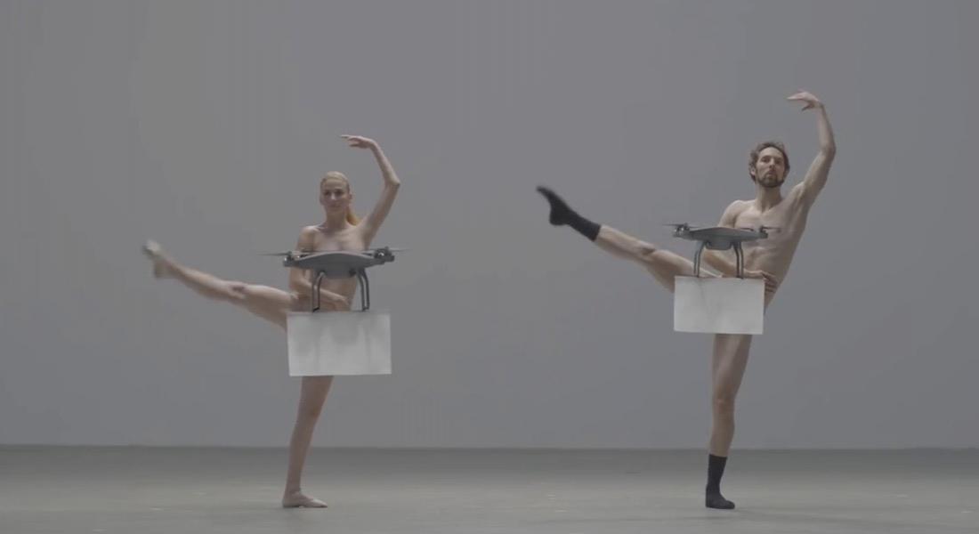 Drone'la Sansürlenen Çıplak Koreografi