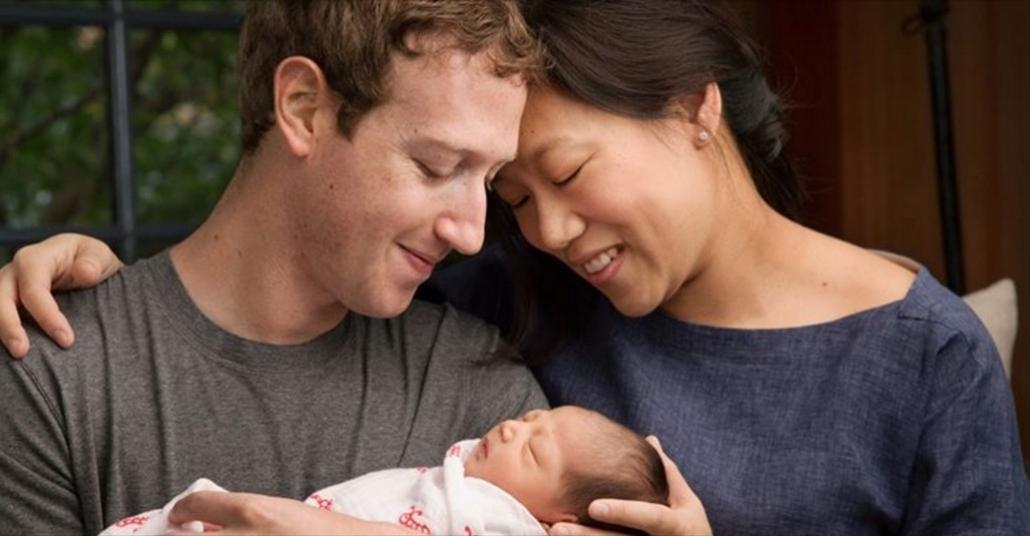 Mark Zuckerberg ve Priscilla Chan, Facebook Hisselerinin %99'unu Hayır Kurumuna Bağışlıyor