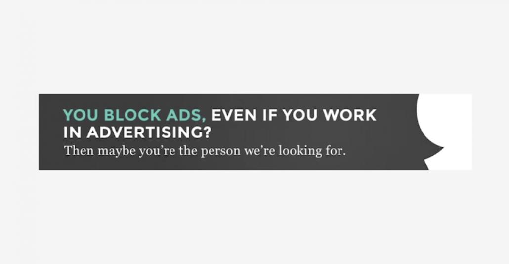 İnternet Reklamlarını Engelleyen Reklamcıların Peşine Düşen Ajans