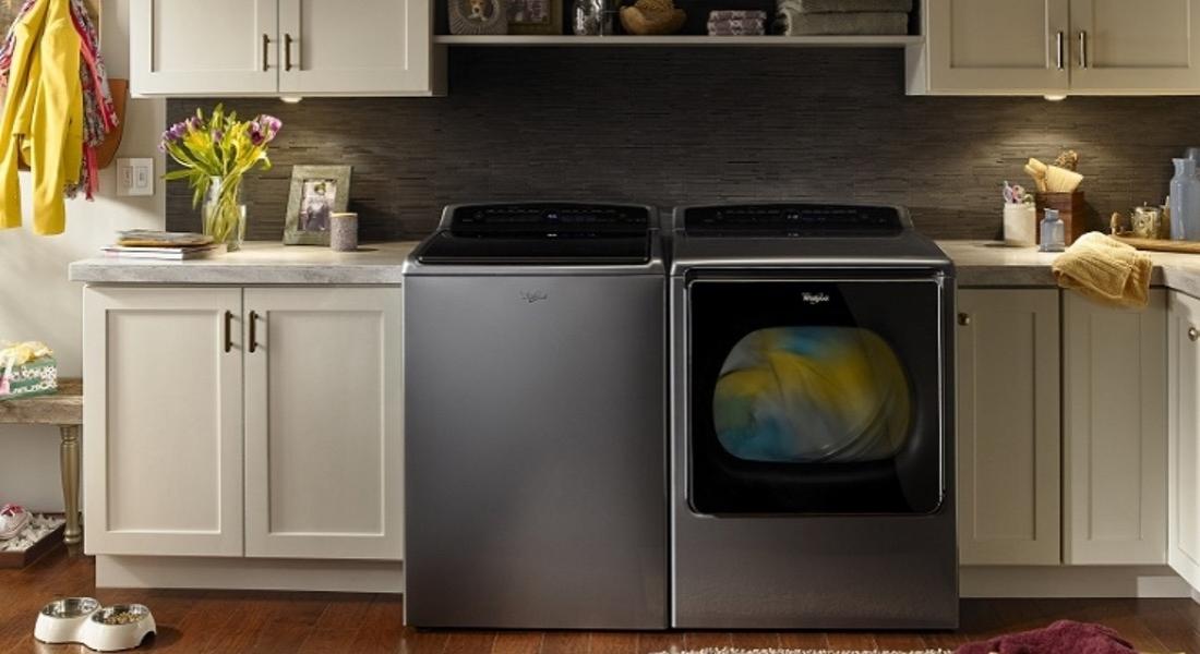 Whirpool'un Yeni Çamaşır ve Bulaşık Makineleri Amazon Dash'le Entegre Çalışacak