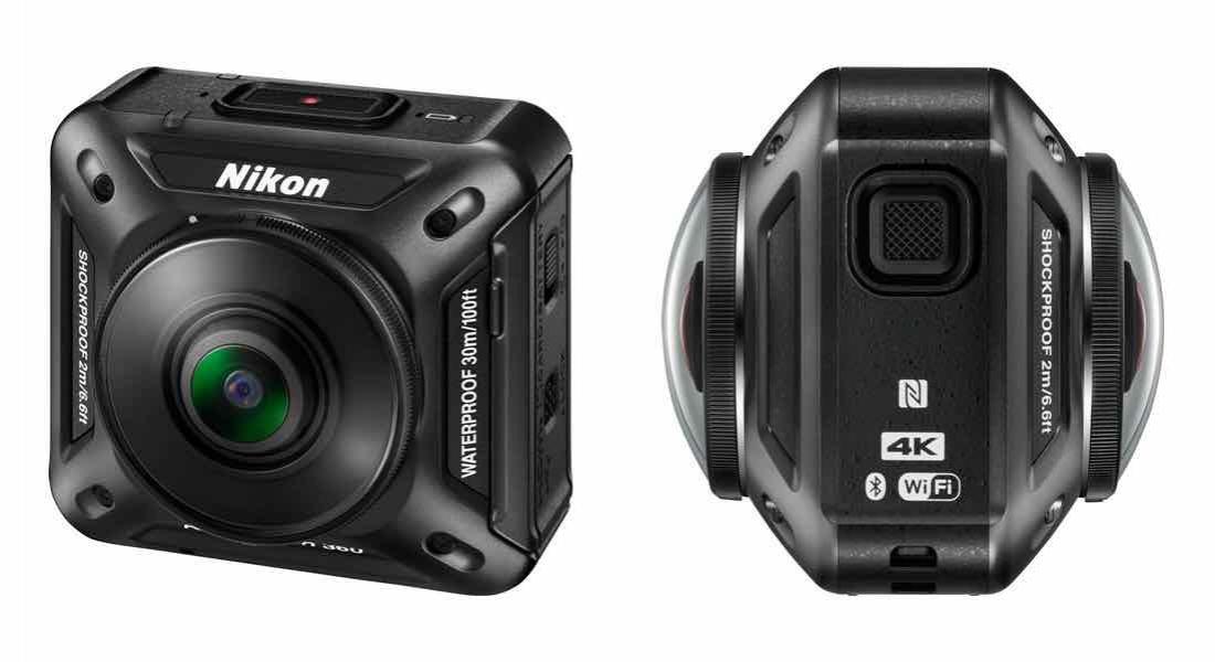 Nikon'dan 360 Derece Kayıt Alabilen Aksiyon Kamerası