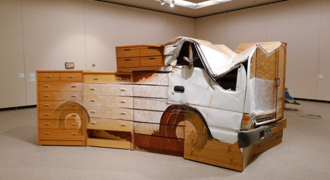 Tamir Edilirken Sanat Eserine Dönüşen Hurdalar