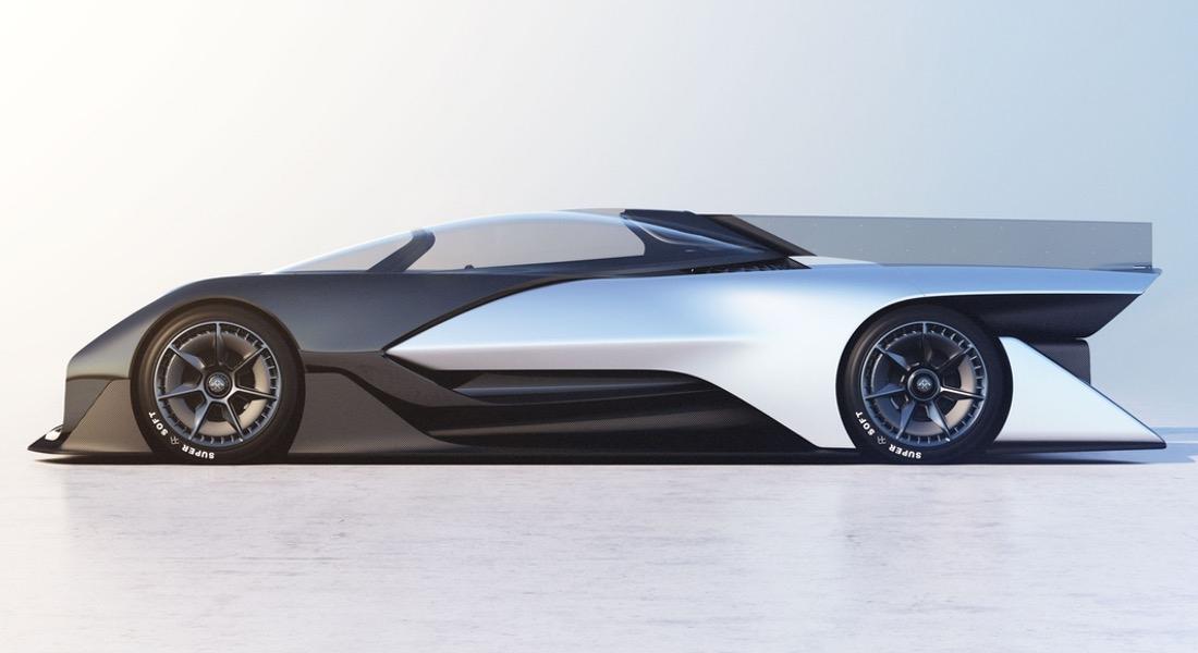 Faraday Future'dan 1000 Beygir Gücünde Konsept Elektrikli Araç