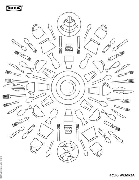 Ikea Nin Ikonlasmis Urunlerinden Boyama Kitabi Bigumigu