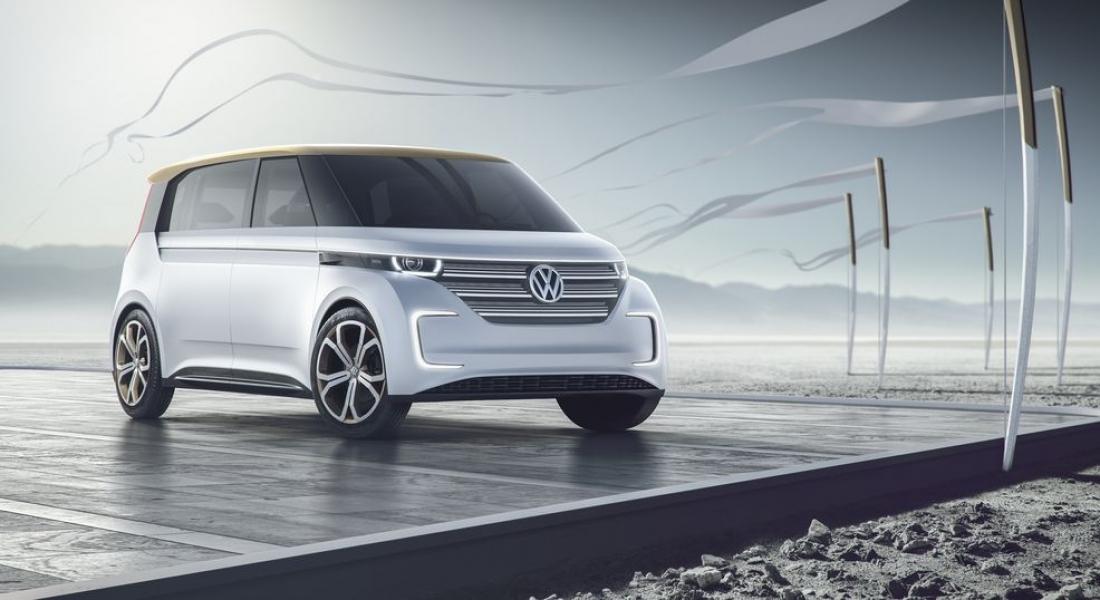 Volkswagen'den Elektrikli Minibüs Konsepti: BUDD-e