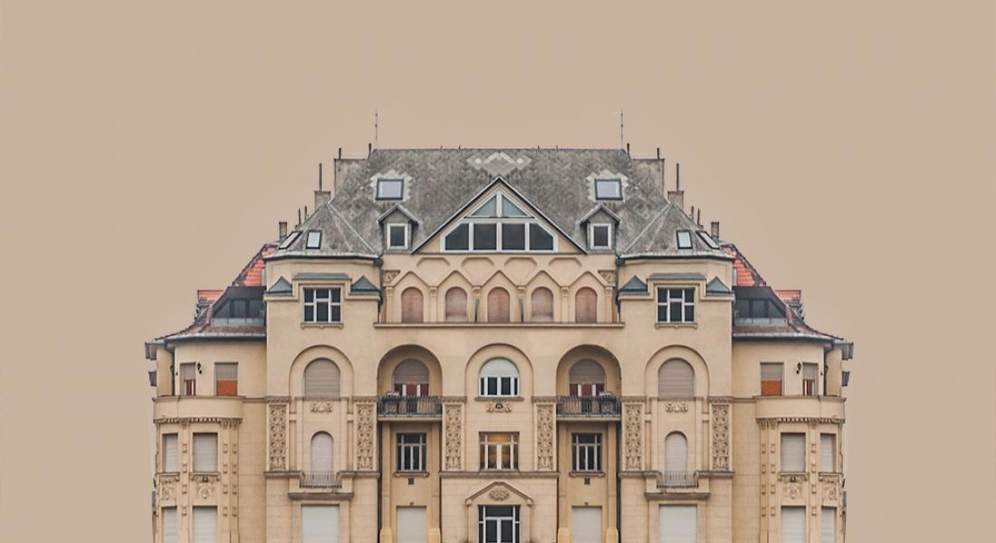 Binaların Düşsel Portre Fotoğrafları: Urban Symmetry