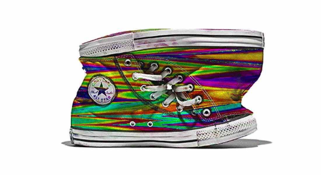 GIF Sanatçılarının Tasarladığı Converse'lerle GIF Sergisi