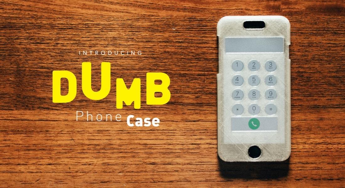 Telefon Bağımlılığını Kısıtlayan Kılıf: Dumbphone Case