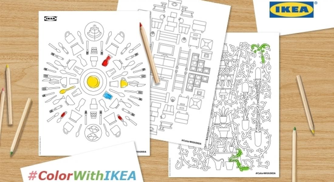 IKEA'nın İkonlaşmış Ürünlerinden Boyama Kitabı