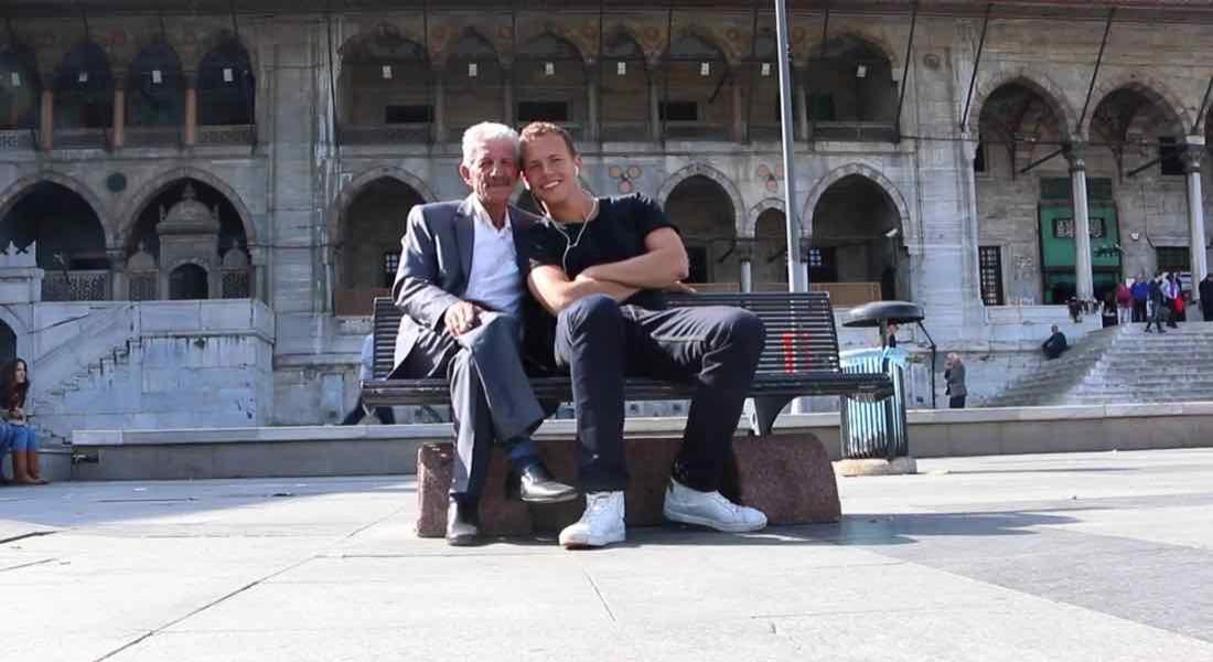 İstanbul'da Bankta Oturan Bir Amca ve Jerome Jarre'ın Nefis Hikayesi