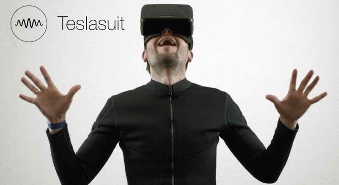 Sanal Gerçeklik İçinde Dokunma Hissini Aktaran Kıyafet: Teslasuit