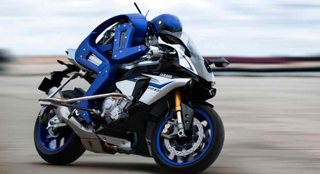 Yamaha'dan Motosiklet Yarışçılarına Rakip Robot: Motobot