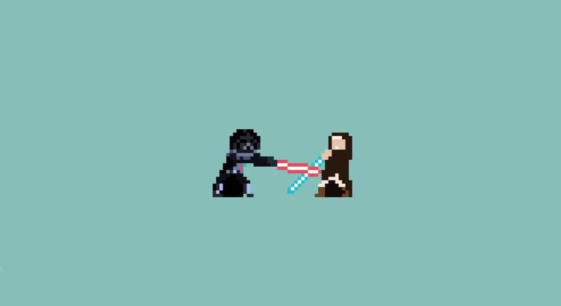 Star Wars'un Ölüm Sahneleri Piksellerle Canlandı