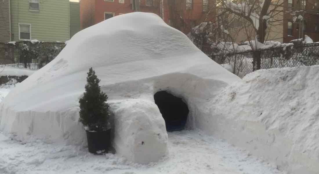 New York'ta Airbnb'den Kiralık Eskimo Evi
