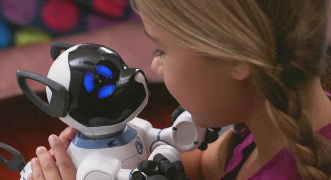 Ailenizin Yeni Üyesi Sevimli Robot Köpek