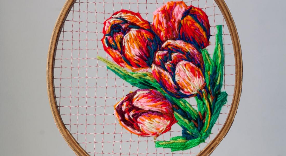 Çiçek İşlemeleriyle Renklenen Antika Raketler