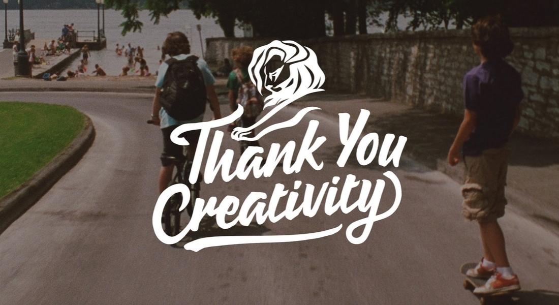 Cannes Lions'tan Yaratıcılığa Teşekkür