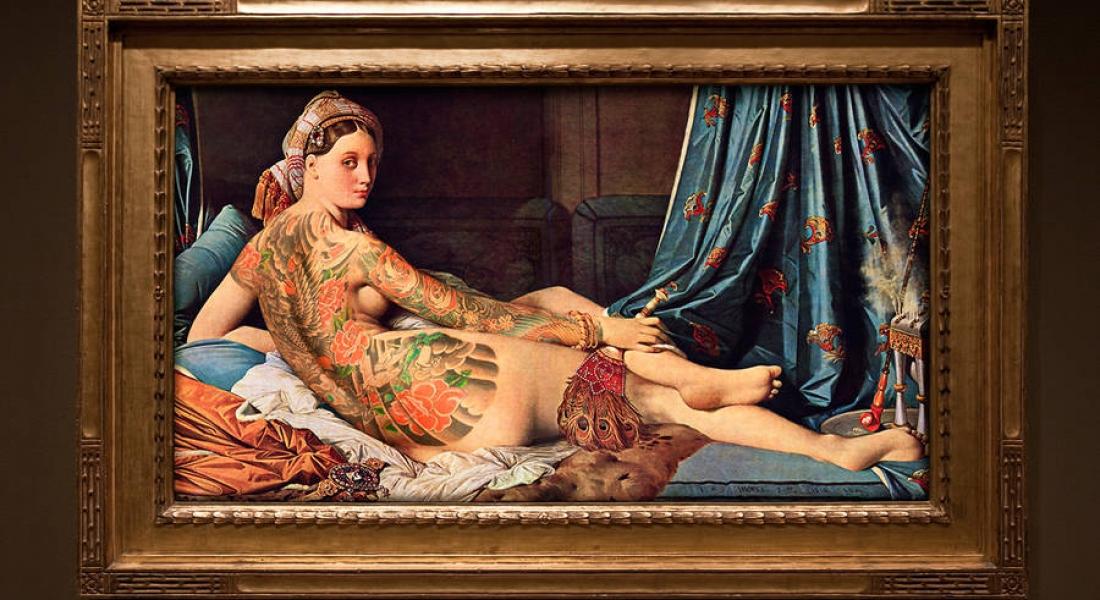 Klasik Eserlere Modern Dövmeler