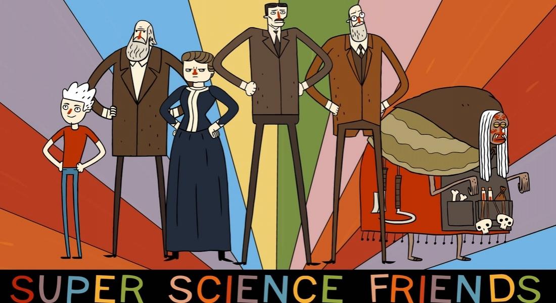 Süper Bilim İnsanları Nazilere Karşı! [Animasyon Dizi]