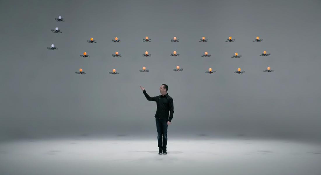 Drone'larla Sihirbazlık Gösterisi