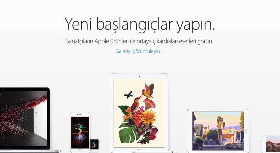 Apple'dan İçinizdeki Sanatçıyı Ortaya Çıkaracak Atölyeler