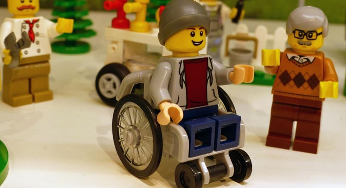LEGO'nun Tekerlekli Sandalyeli Yeni Figürü