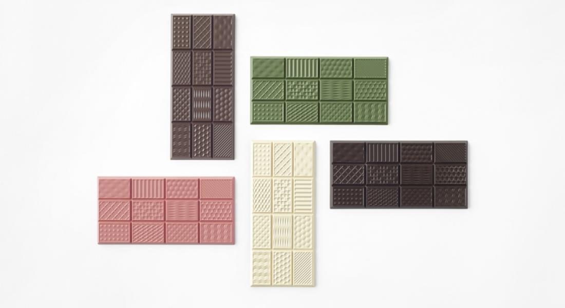 Birbirinden Farklı Desenli Çikolatalar