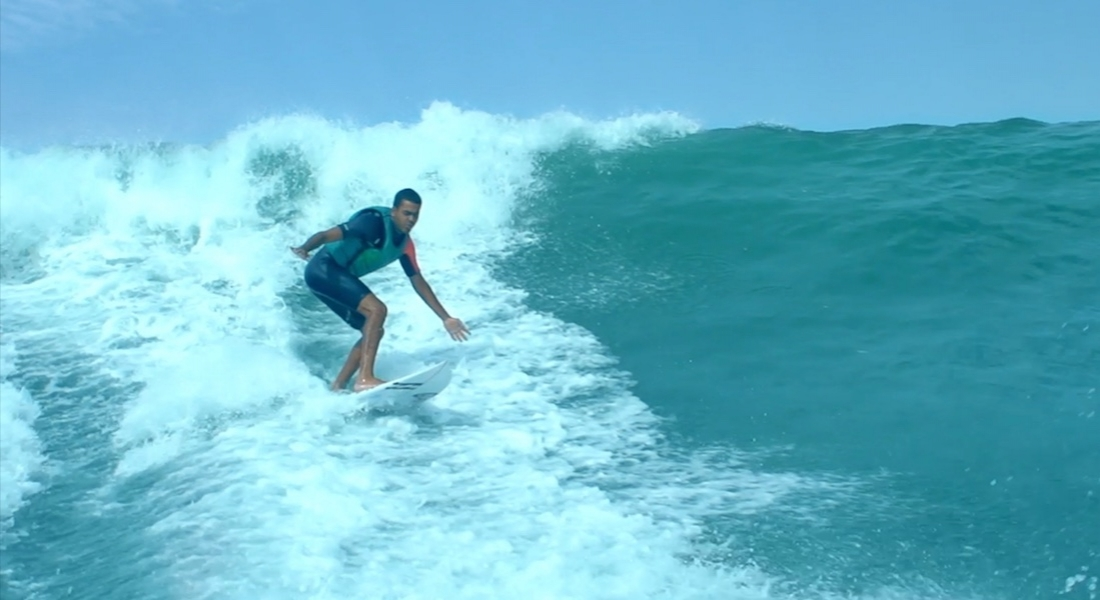 Görme Engelli Sörfçünün Spor ve Yaşam Tutkusu