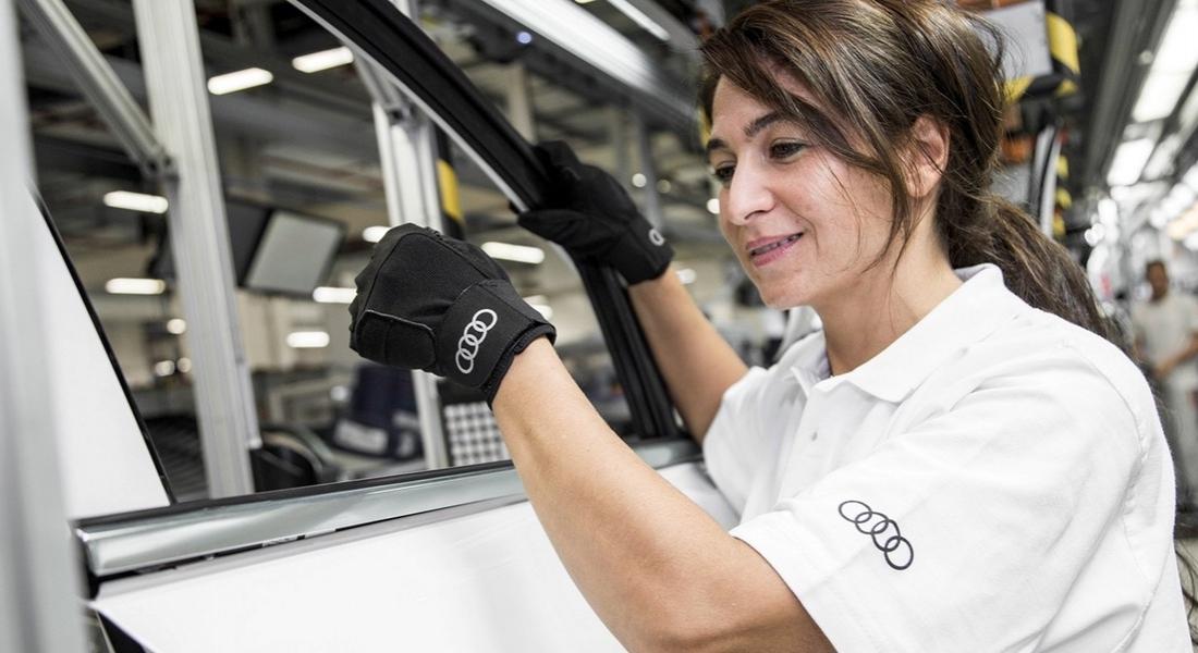 Audi'den Çalışanlarına Stres Azaltan Eldiven
