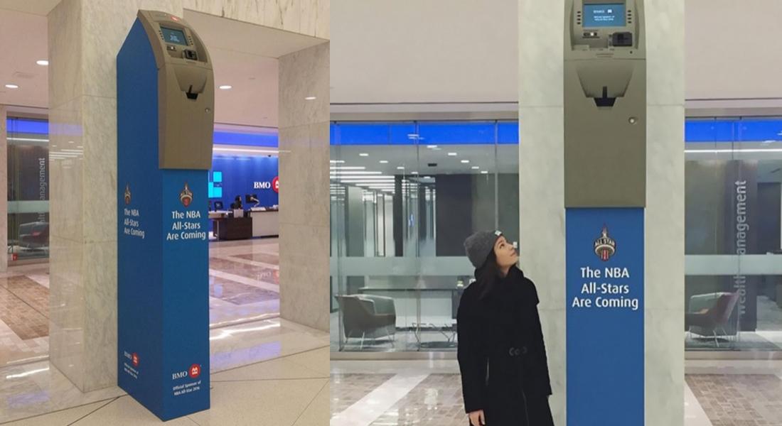 NBA All-Star İçin Hazırlanan ATM