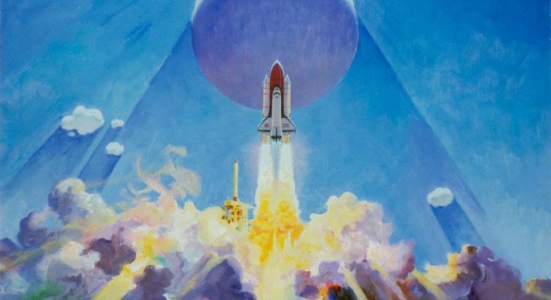 Sanatsal Çalışmalarınız Uzay Yolculuğuna Çıkıyor