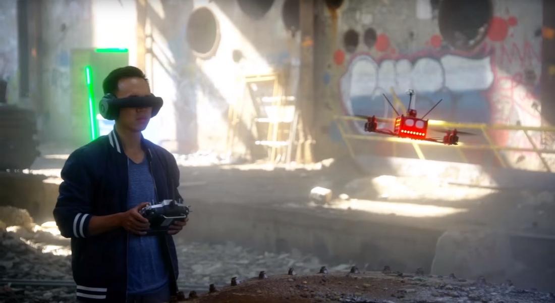 Geleceğin Sporu: Drone Yarış Ligi