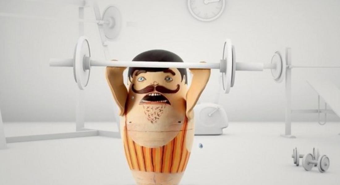 Egzersiz Takibi Yapan Matruşka Bebekleri