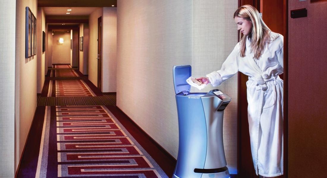 Oteldeki Tüm İhtiyaçlarınızı Karşılayan Robot: Relay