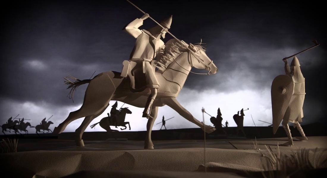 Kağıt Modellerle Londra'nın 40.000 Yıllık Tarihi