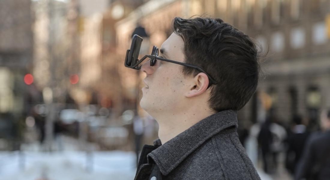 Yuvarlak Gözlük Çerçevesinde Sanal Gerçeklik Deneyimi