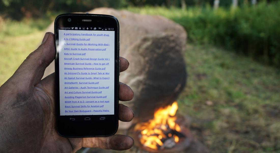 Ateş Yakarak Etkinleştirilen İnternet Erişimi