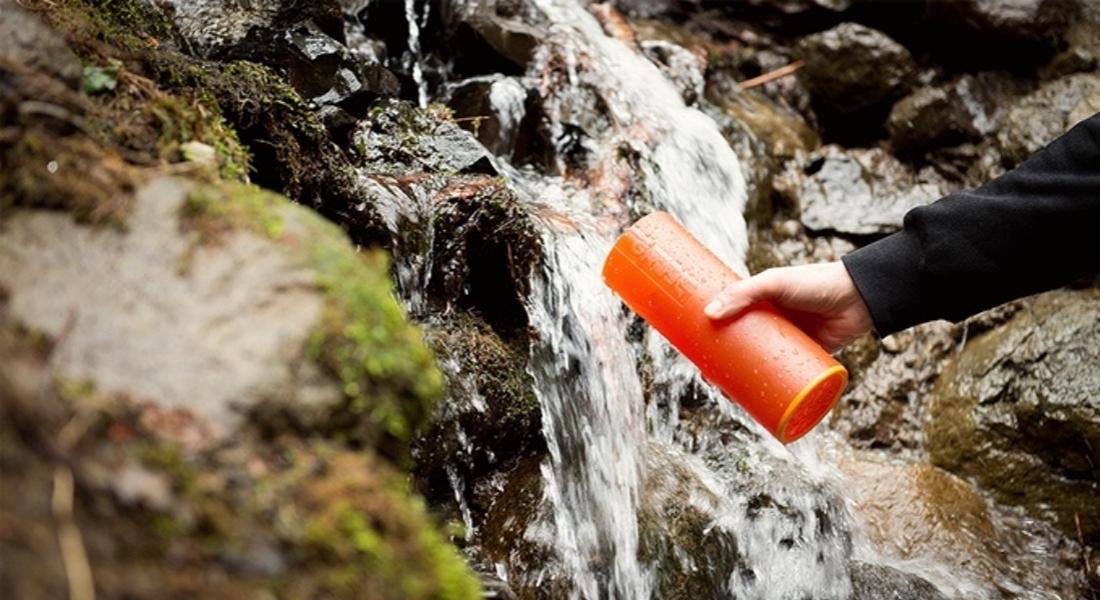Tek Sıkımda Su Temizleyen Seyahat Şişesi