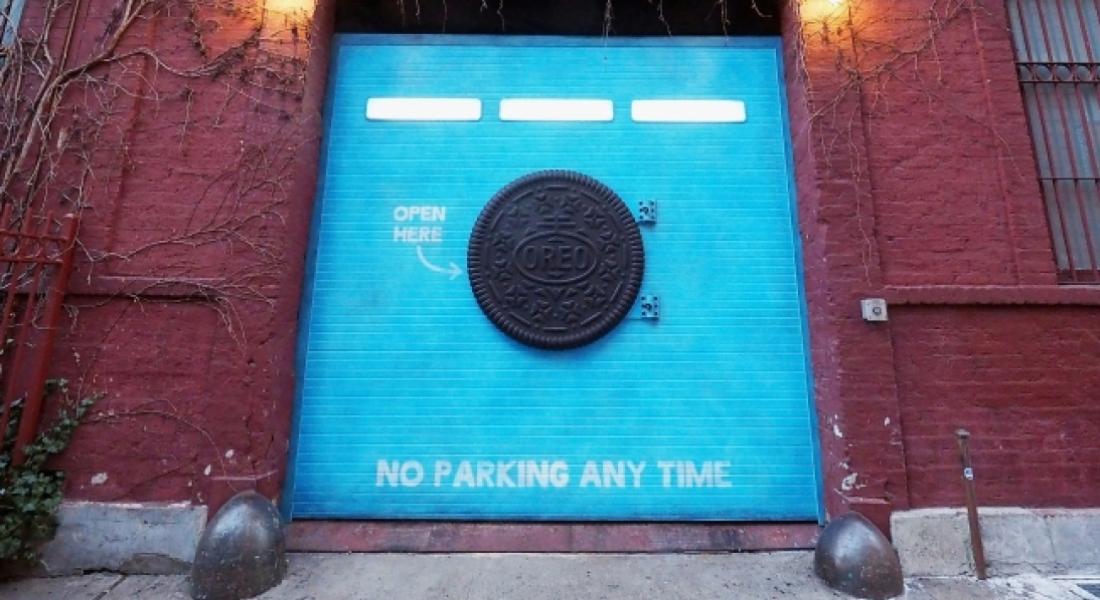 New York'ta Aniden Beliren Gizemli Oreo Kapısı