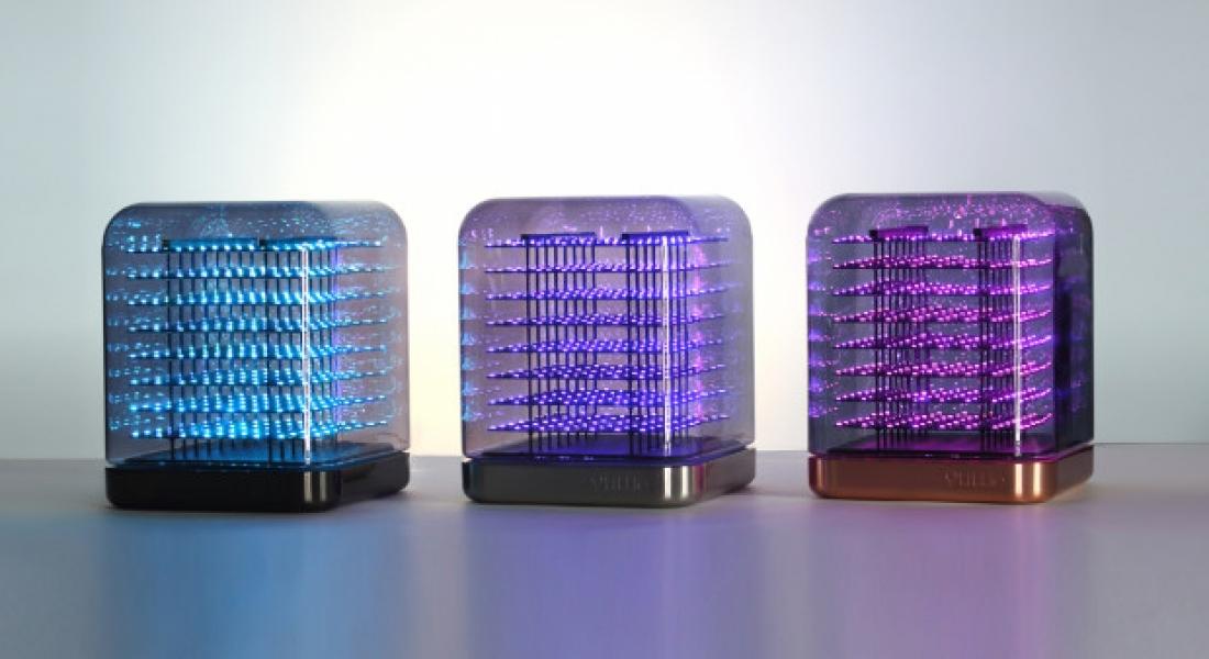 Işıktan Heykeller Yaratılabilen LED Küp