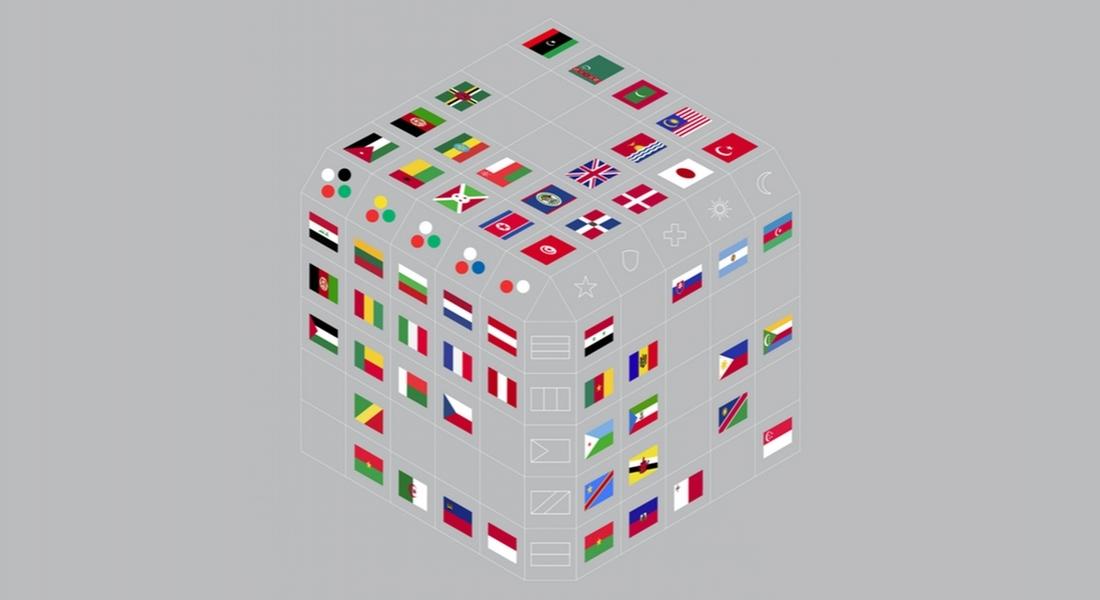 Dünya Bayraklarının Görsel Analizi