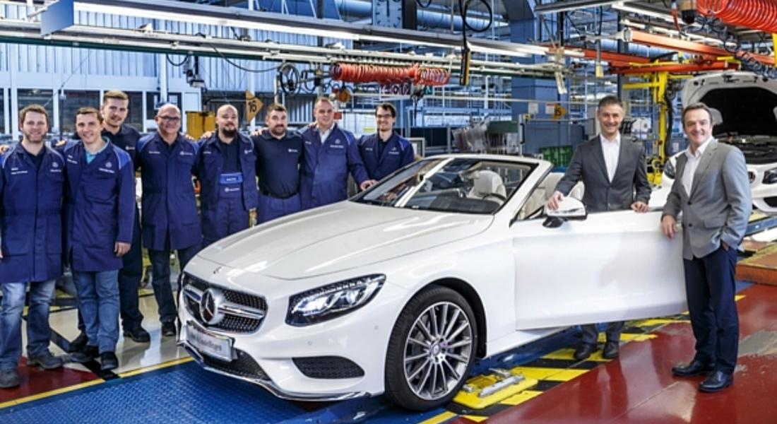 Mercedes'ten Bir Tersine Robotlaşma Hamlesi