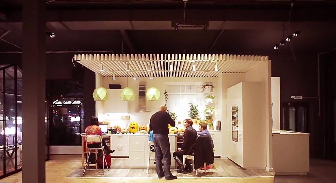 IKEA Mutfağında Akşam Yemeği Keyfi